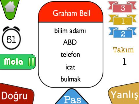 Tabu Kelime Oyunu HD screenshot 2