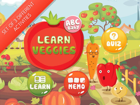 Learn Veggies PRO - Set of Edu Games For Kids screenshot 8