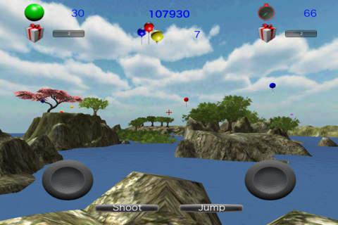 Balloon-Shooting 3D - náhled
