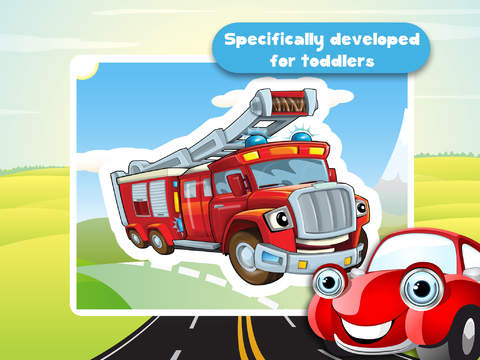 Free Kids Puzzle Teach me Tracing & Counting with Cars: Learn which wheels you need to race, what the cars look like and what sounds the cars make screenshot 10