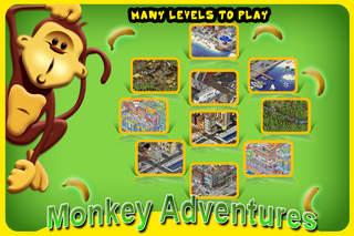 Monkey Adventure HD screenshot 1