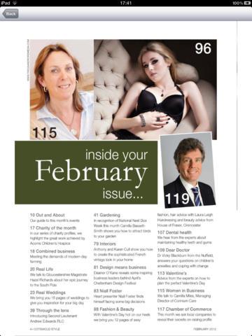Cotswold Style Magazine screenshot 6