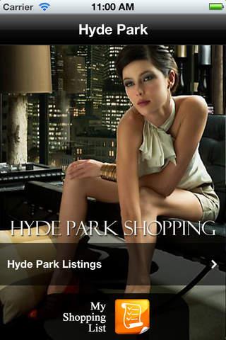 Hyde Park Shopping screenshot 1
