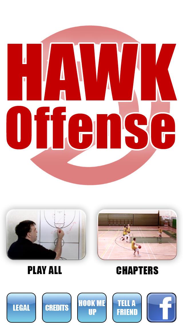 HAWK Offense: Scoring Playbook - with Coach Lason Perkins - Full Court Basketball Training Instruction screenshot 1
