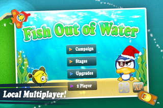 Fish Out of Water - Plane Bomber Free screenshot 1