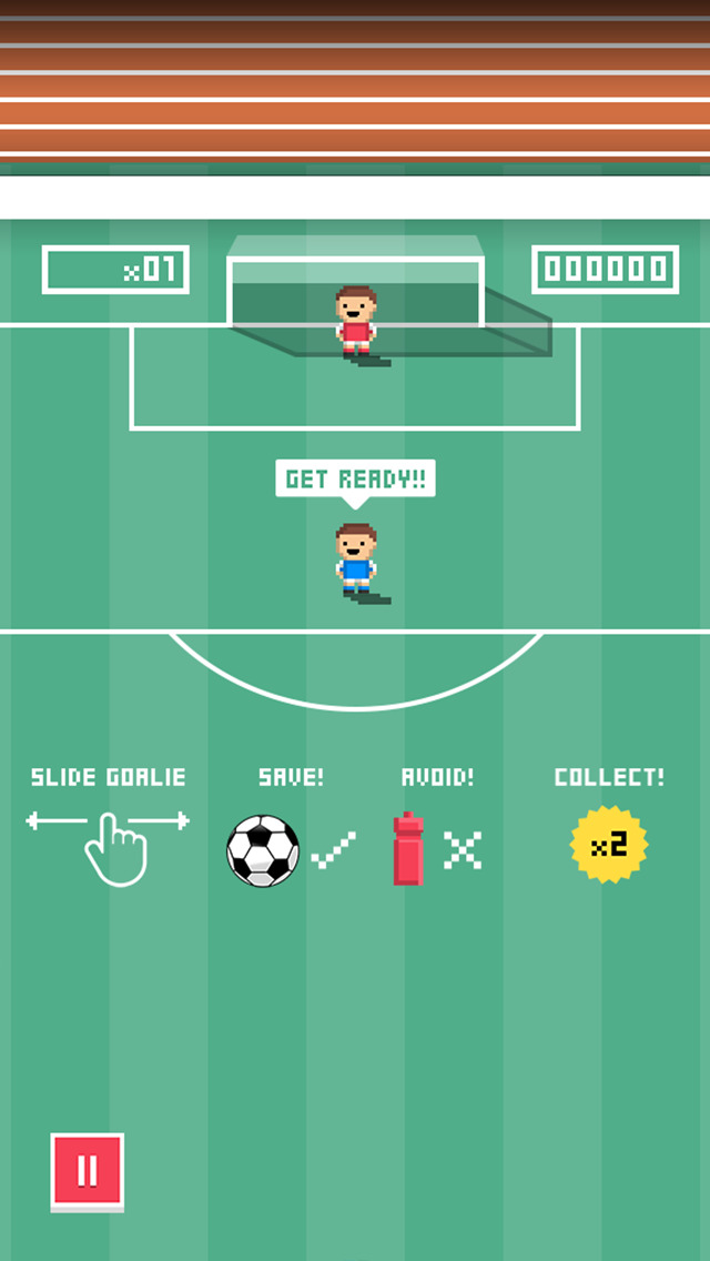 Tiny Goalie screenshot 2