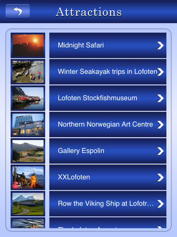 Lofoten Islands Offline Travel Guide screenshot 8