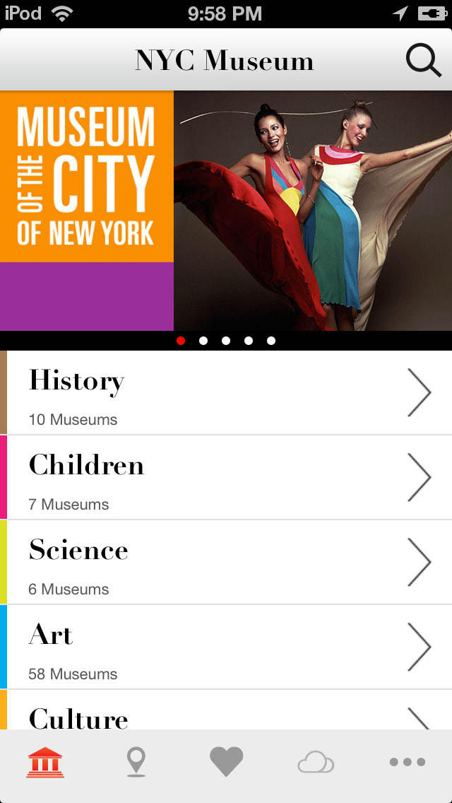 New York Museum Guide screenshot 1