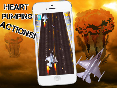 Super Fighter Jet Race Premium screenshot 7