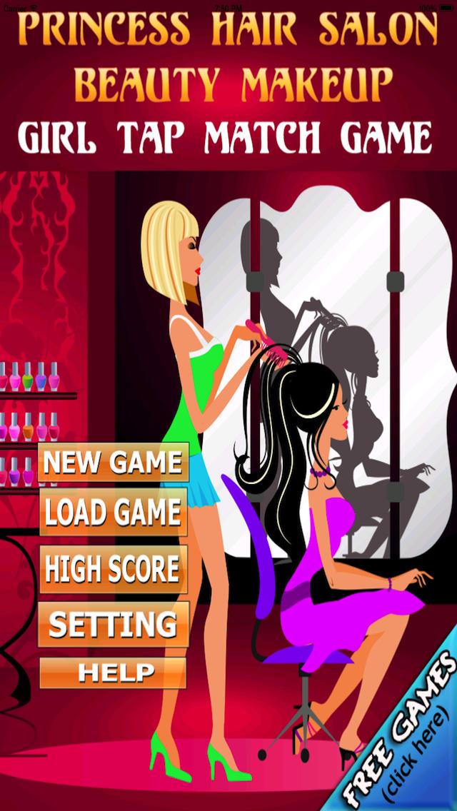 A Princess Hair Stylist Beauty Salon - Fashion and Art Parlor Addictive Matching Mania Games for Girls - Full Version screenshot 5