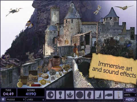 Secret Mysteries: Mythical Lands HD - Fun Seek and Find Hidden Object Puzzles screenshot 2