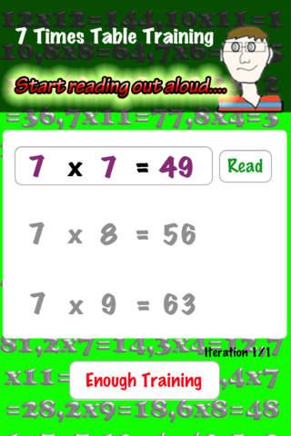 Multiplication Trainer - náhled