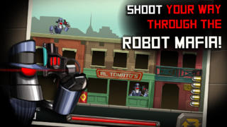 Robot Gangster Rampage - Bot Mafia Shooter Mayhem screenshot #1