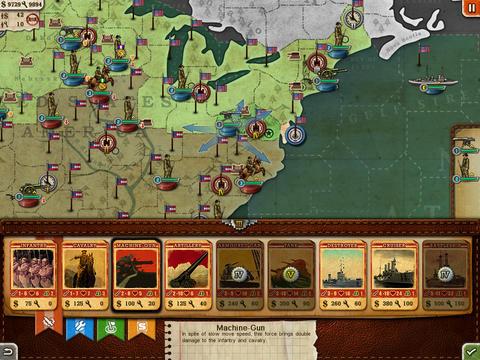 European War 3 Free for iPad screenshot 3