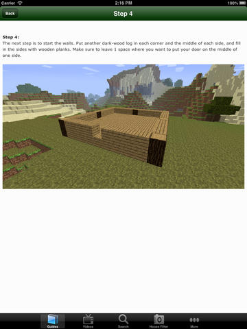 Houses for Minecraft - Advanced Building Guide screenshot 7