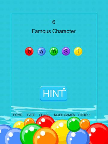 Bubble Word Scramble screenshot 7
