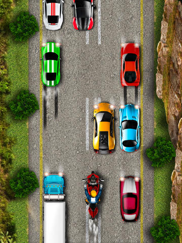 2D Highway Moto Bike Game FREE - Real Fast Motorbike & Motorcycle Racing Games screenshot 5