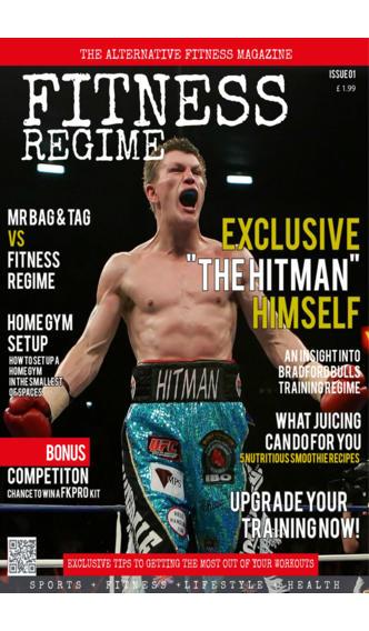 Fitness Regime Magazine screenshot 1