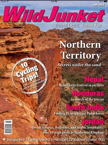WildJunket Travel Magazine screenshot 6