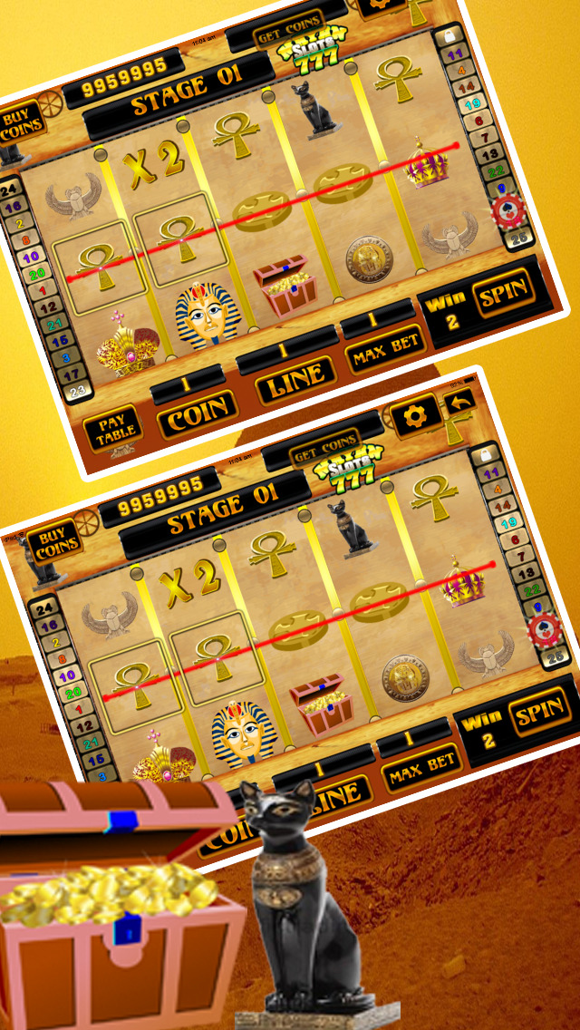 Ancient Aztec Slots-Best Vegas Casino screenshot 2