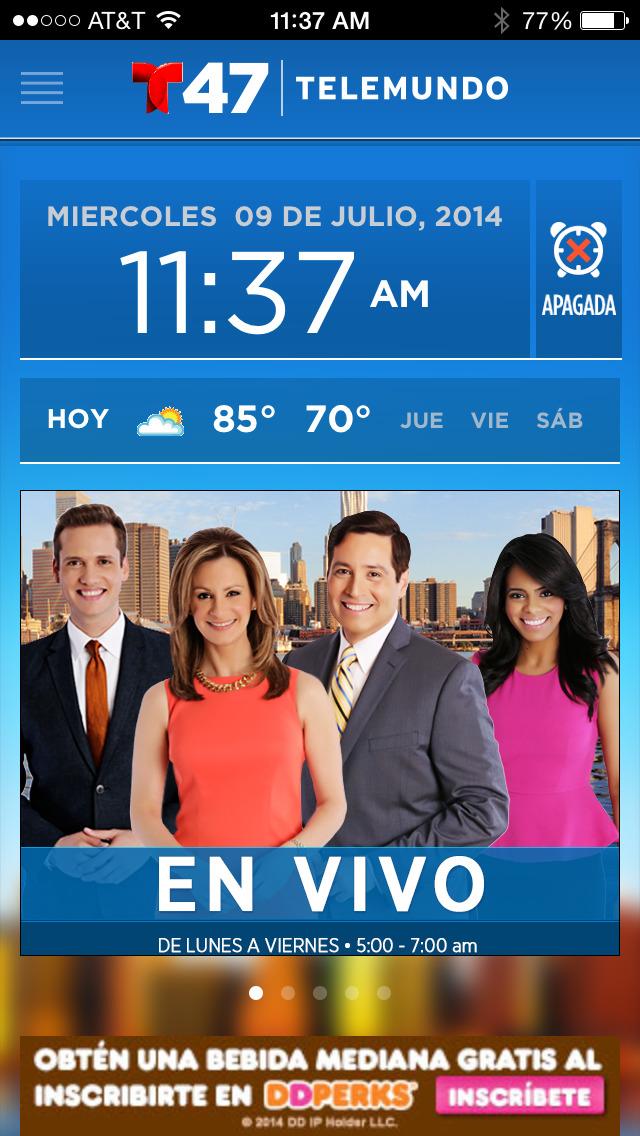 Telemundo 47 - Primera Edición screenshot 2