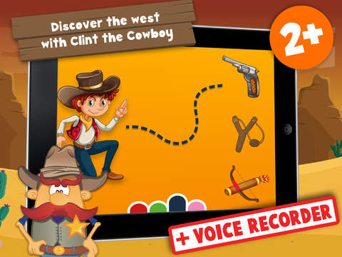 Free Kids Puzzle Teach me Cowboys and Indians Cartoon: Learn about Indian adventures and cool cowboys screenshot 6