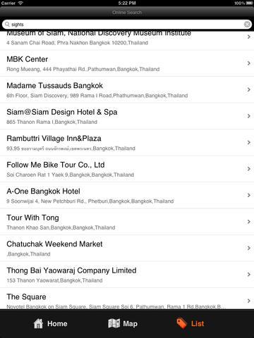 Bangkok Travel Map (Thailand) screenshot 8