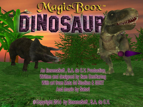 Magic Boox: Dinosauria screenshot 1