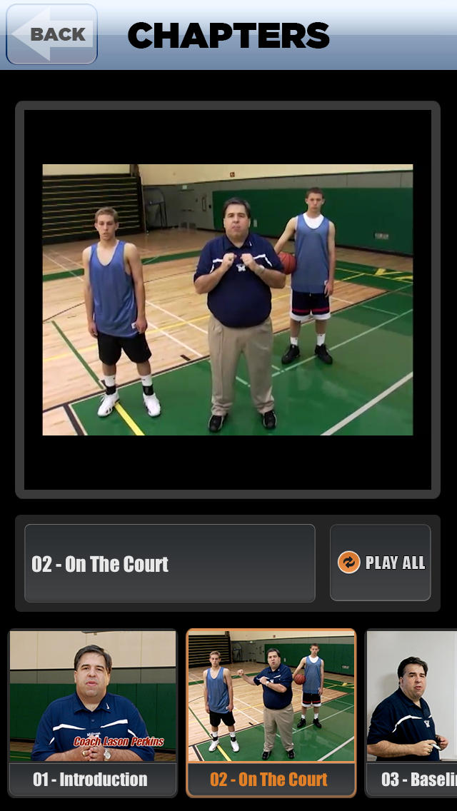 Scoring In Transition: Offense Playbook - with Coach Lason Perkins - Full Court Basketball Training Instruction screenshot 3