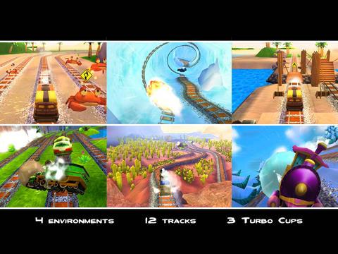 Turbo Trainz screenshot #4