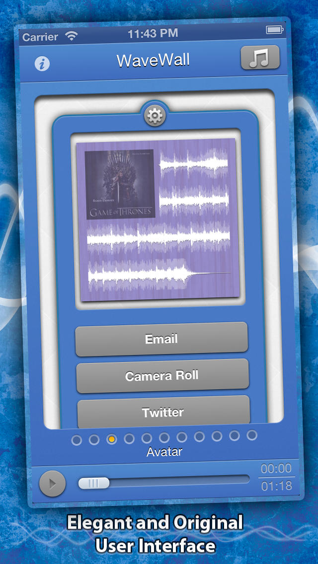 WaveWall screenshot 2