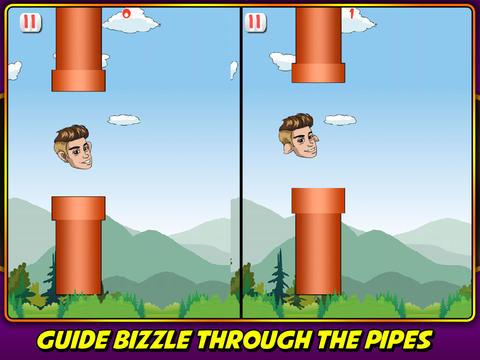 Tiny Bizzle Wings - Justin Bieber Edition screenshot 5