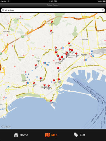 Napoli Travel Map (Naples) screenshot 7