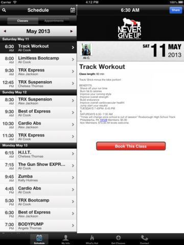 Never Give Up Training screenshot #2