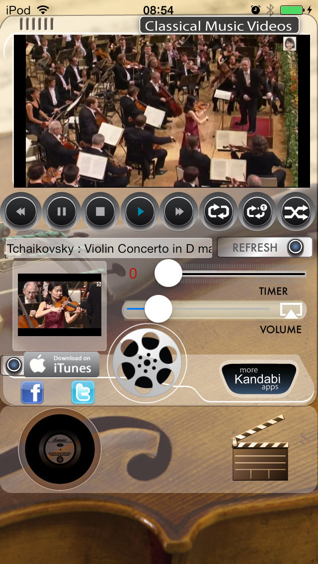 Classical Music Videos screenshot 1