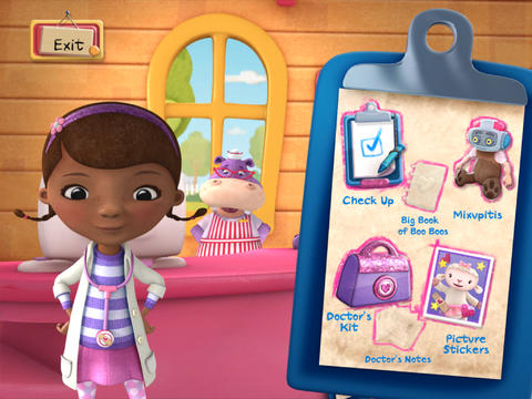 Doc McStuffins:  Time For Your Check Up! screenshot 7