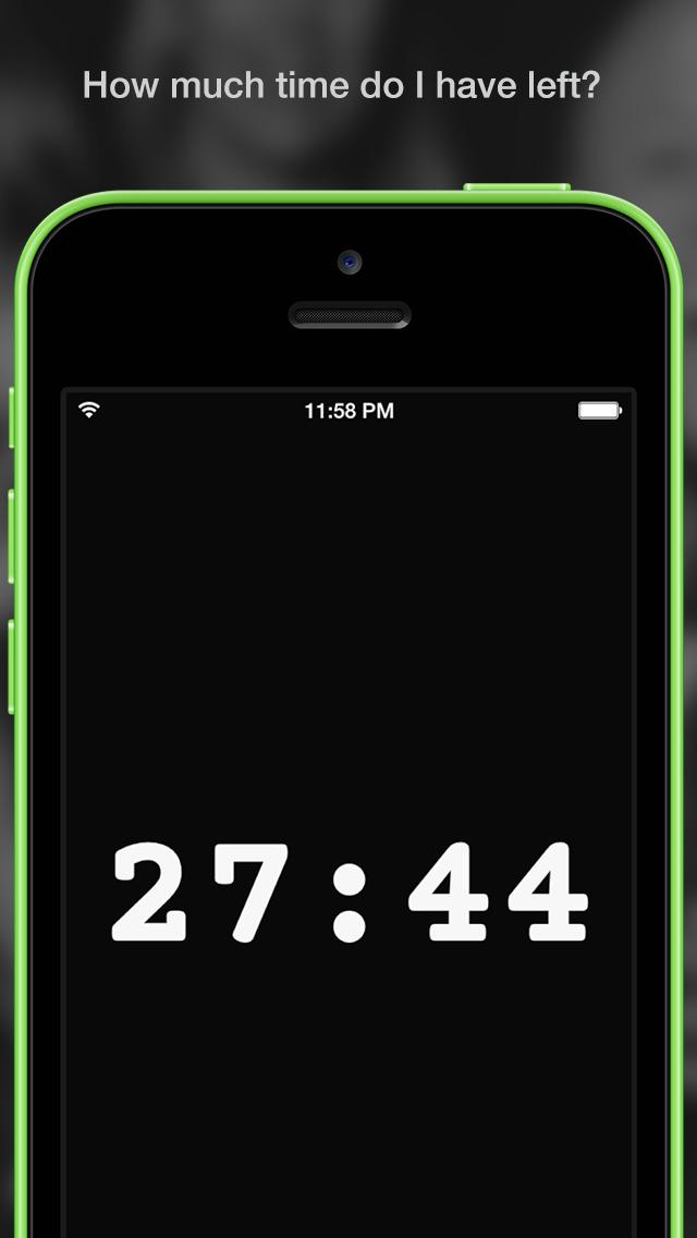Timer for Rehearsal/Live: Fin screenshot 1