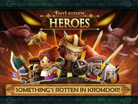 TinyLegends™ Heroes screenshot #1