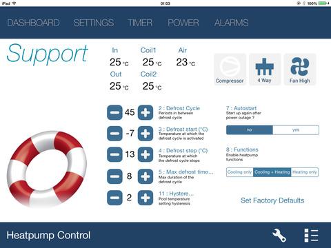 Heatpump Wifi Controller - náhled