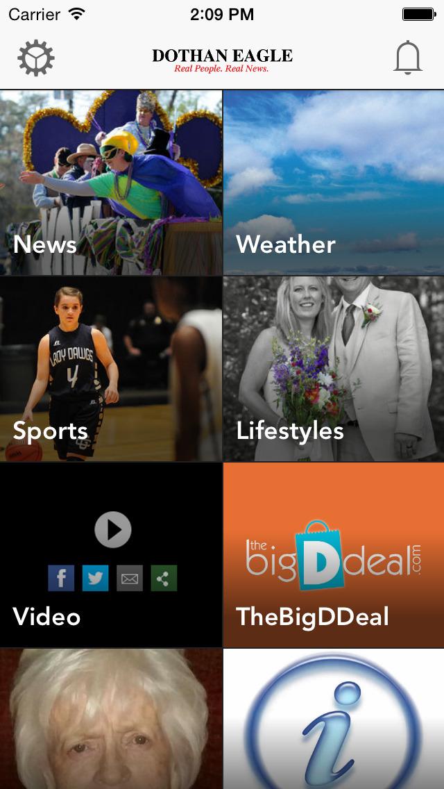 Transition: Dothan Eagle Mobile News screenshot 1
