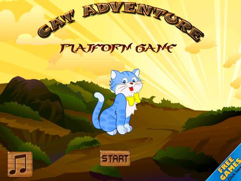 Free Cat Game Cat Adventure Platform screenshot 7