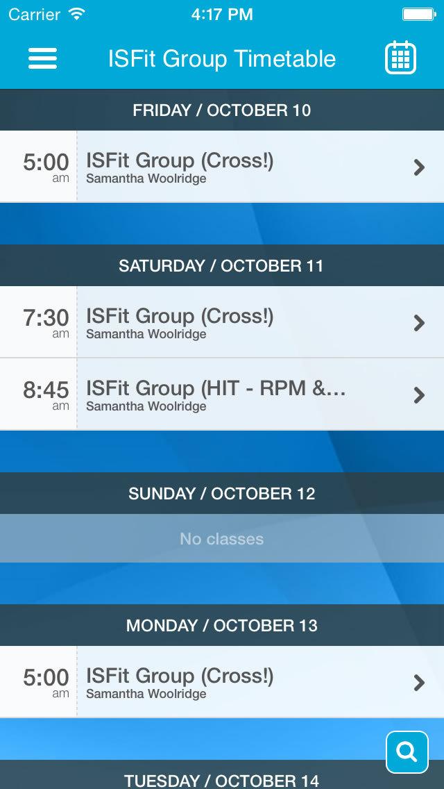 ISFit screenshot #3