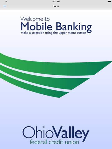 Ohio Valley FCU Mobile Teller - náhled
