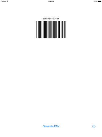 EAN Code Generator screenshot 3