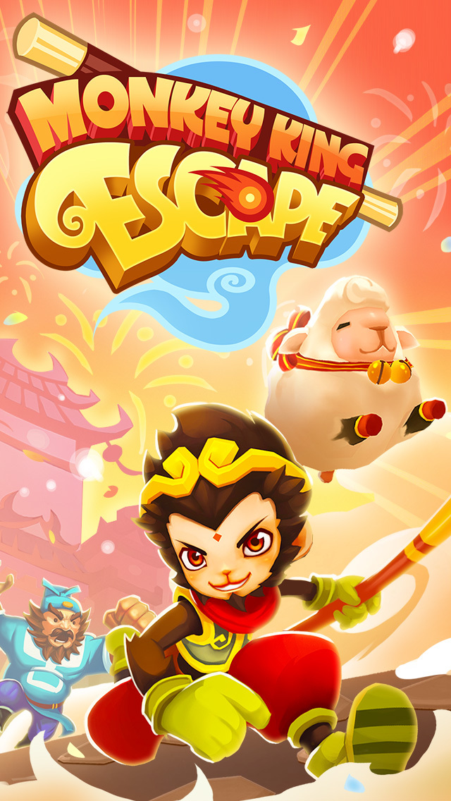 Monkey King Escape screenshot 1