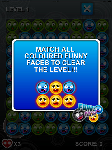 Funny Faces Of Daddy - Free Puzzle Games screenshot 5