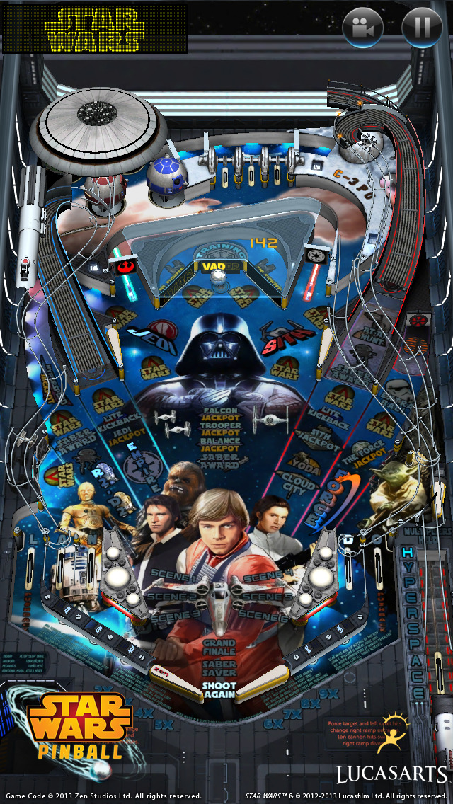 Star Wars™ Pinball 7 screenshot 1