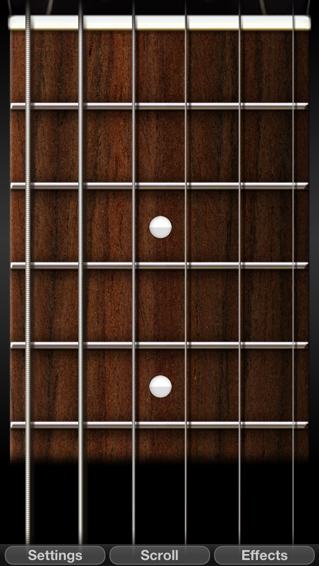 PocketGuitar - Virtual Guitar in Your Pocket screenshot 2