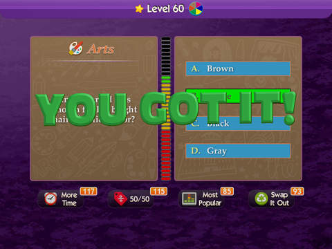 What's the Trivia? ~ take a crack at becoming a trivial millionaire in this pursuit of puzzle bliss! screenshot 6
