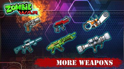 Zombie War - Save The World screenshot 5